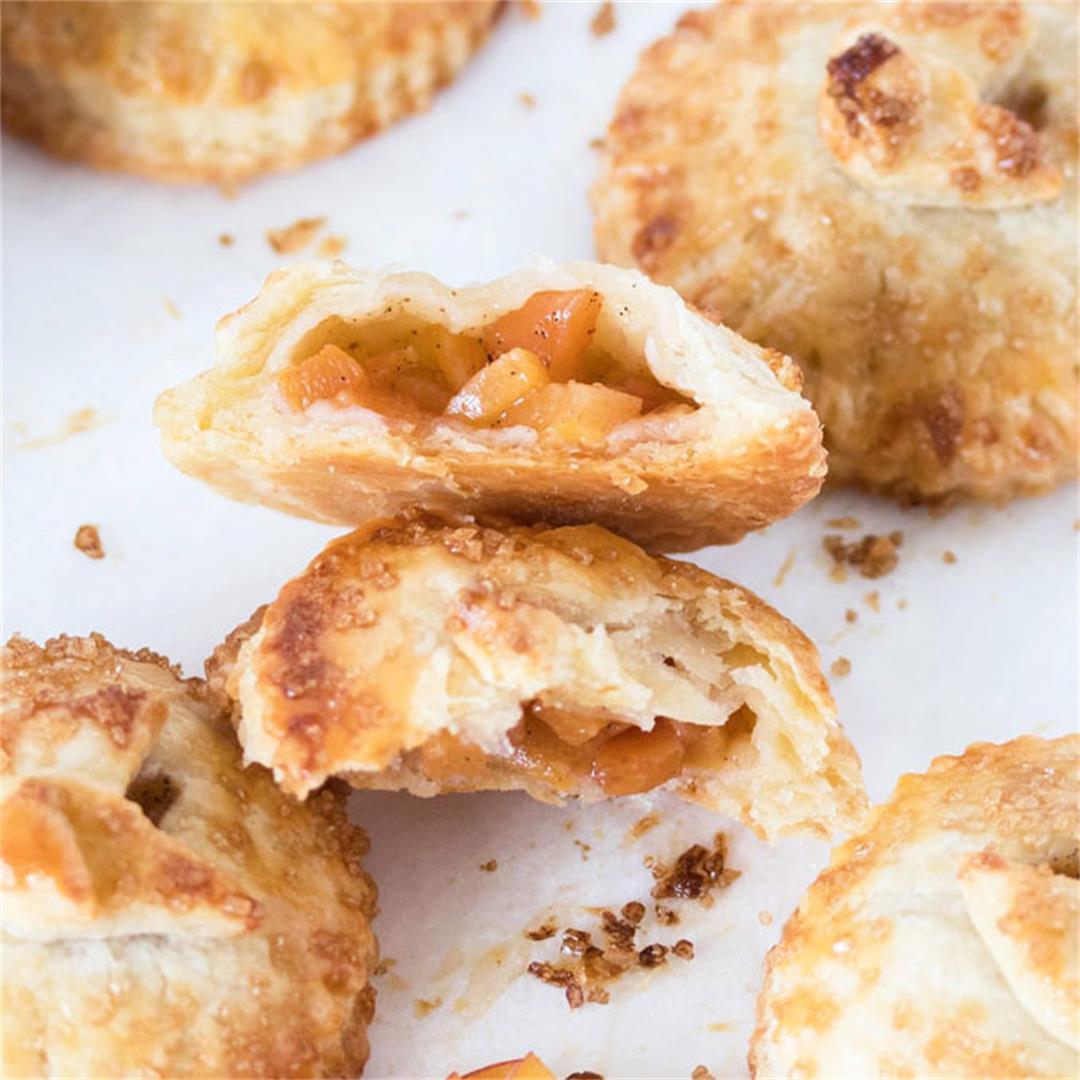 Spiced Peach Hand Pies