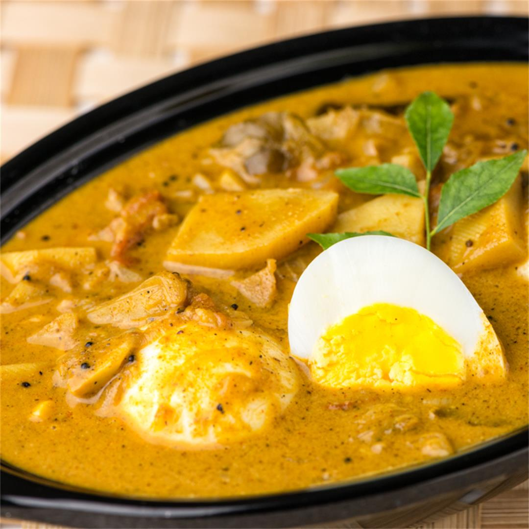 Egg Curry, Kerala Egg Curry with Potatoes