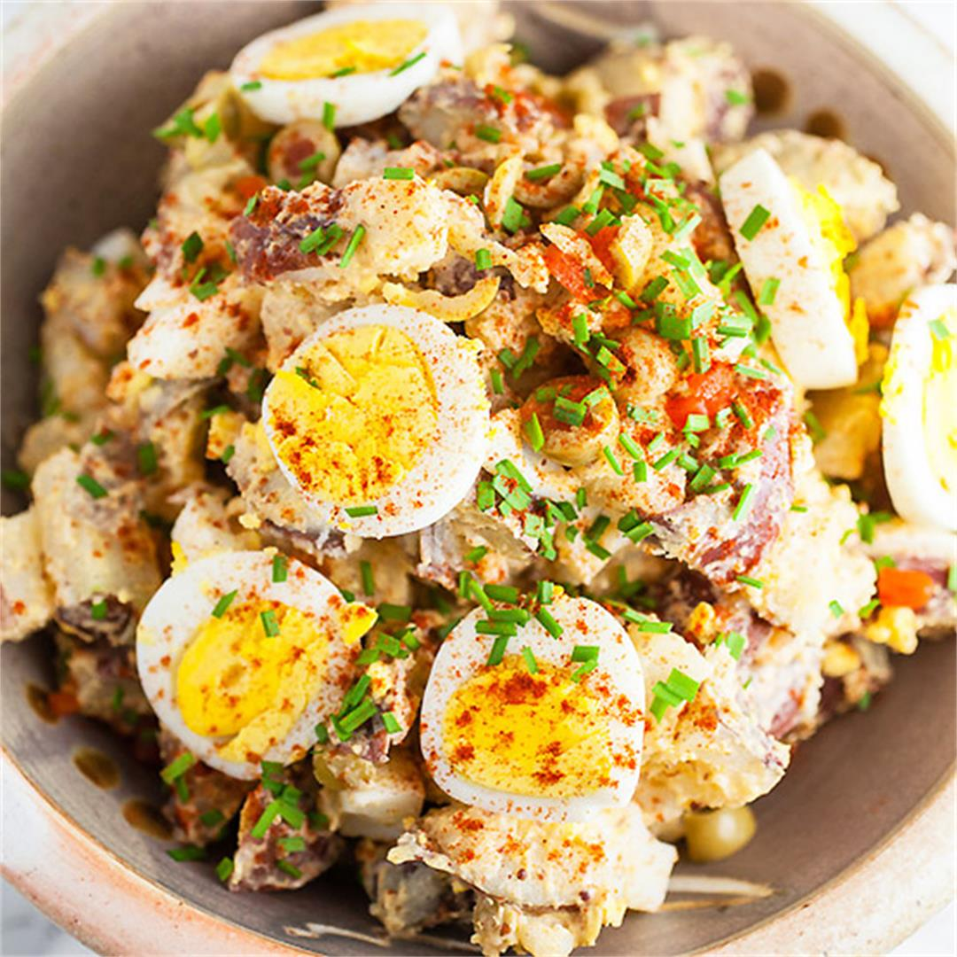 Spanish Style Potato Salad