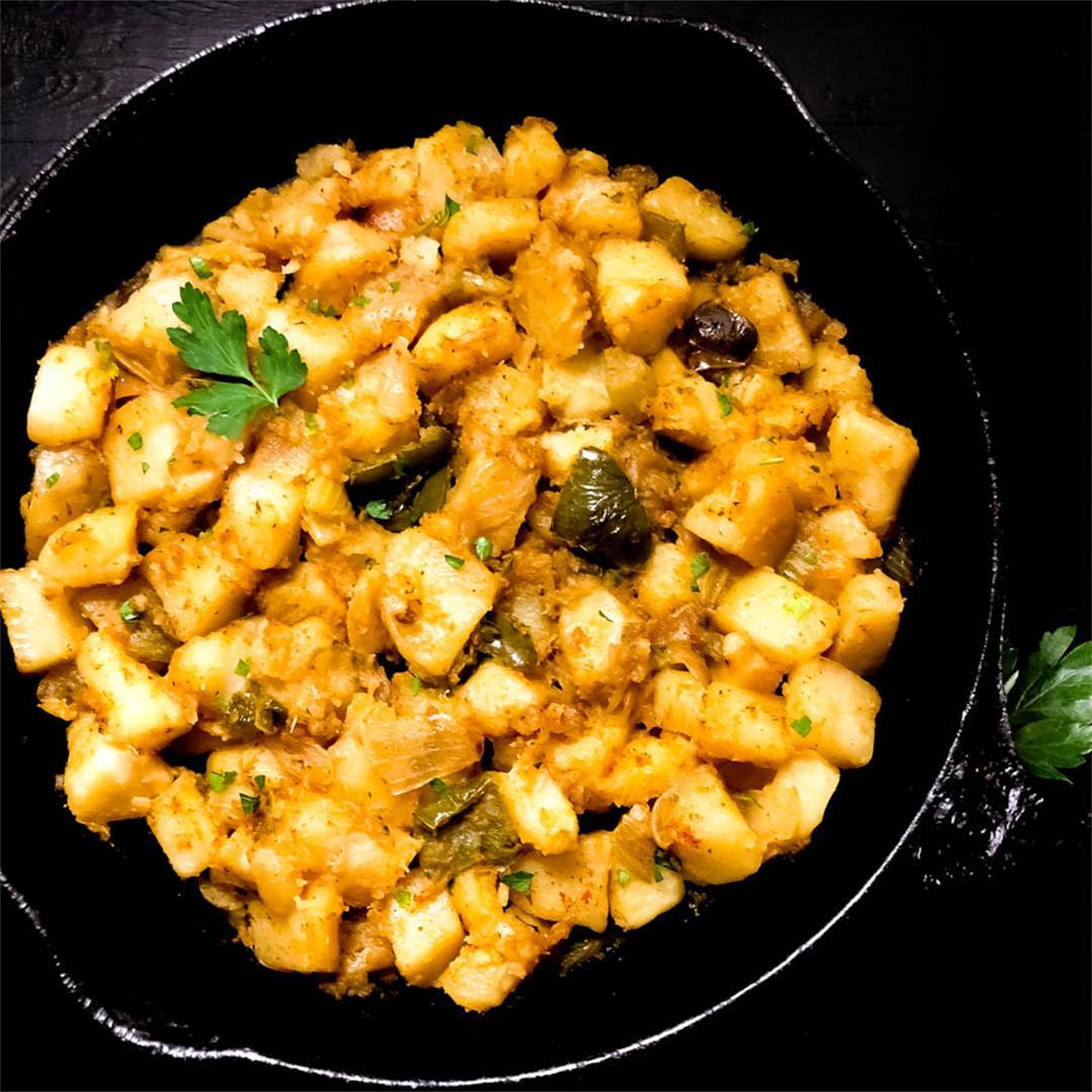 Cajun Smothered Potatoes