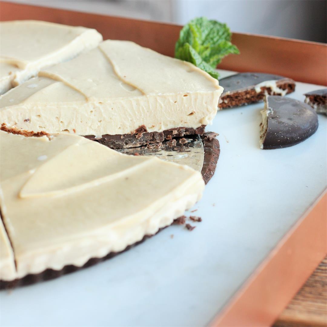 Chocolate Vegan Custard Tart