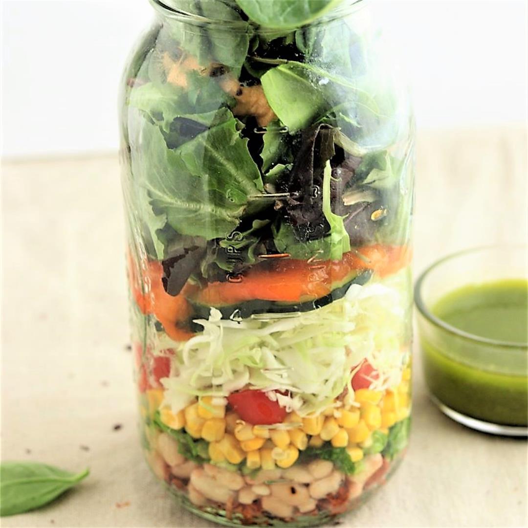 Jackfruit Taco Salad Bouquet
