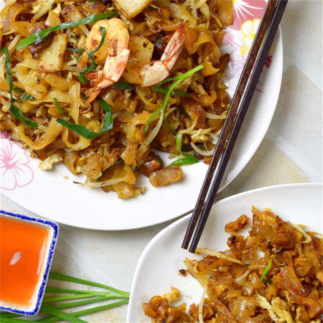Char Kuey Teow (炒粿条)