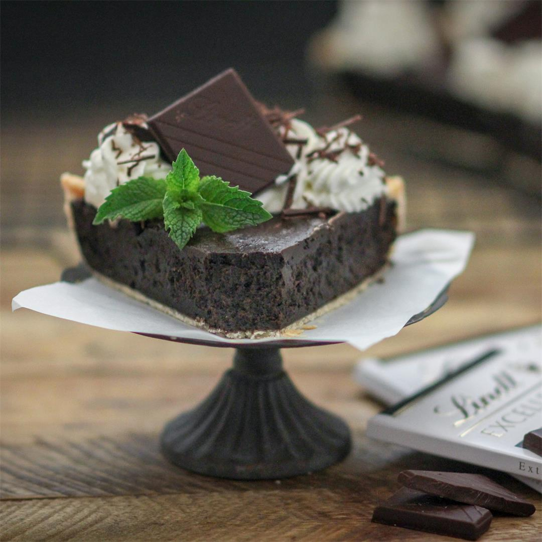 Irish Cream Chocolate Fudge Pie