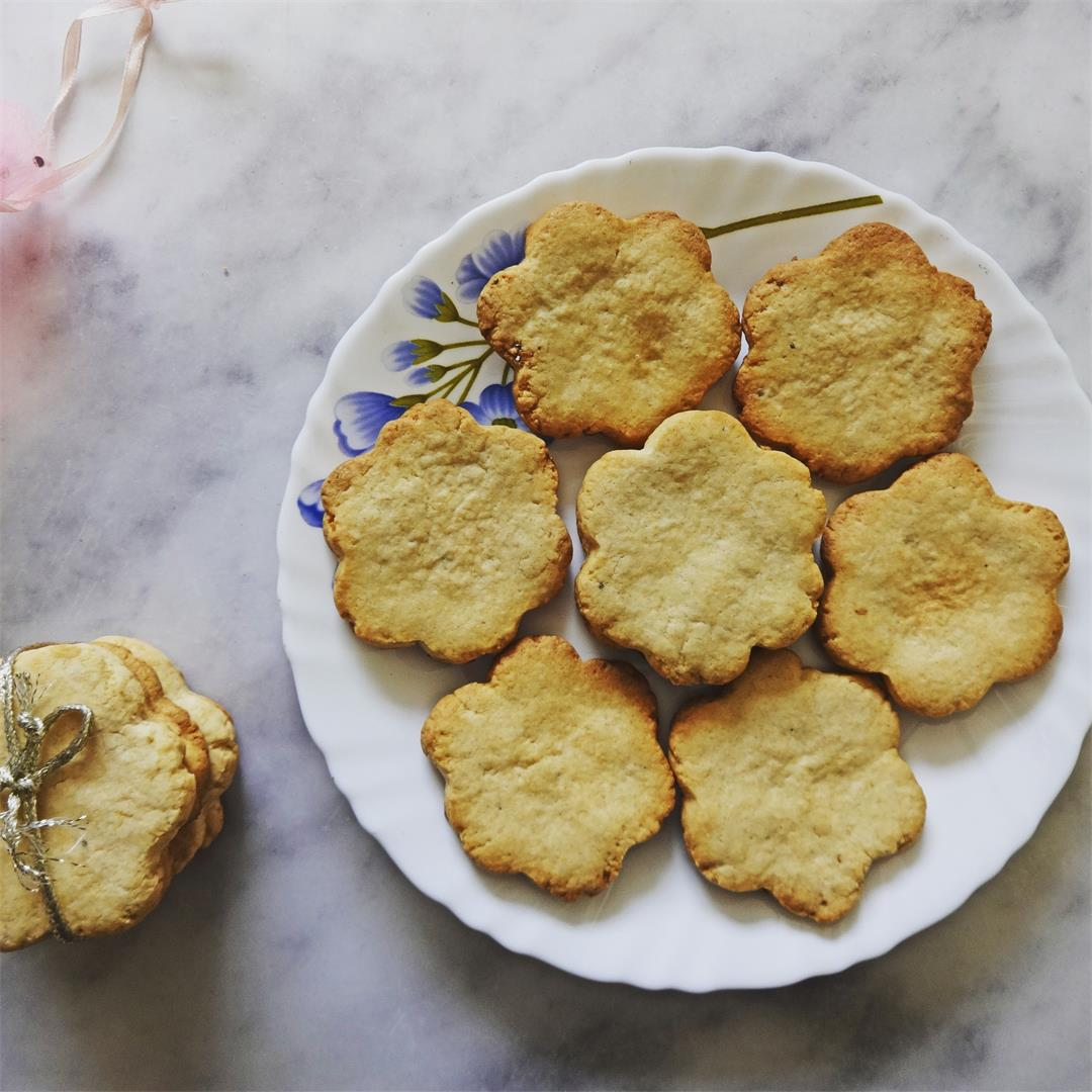 Egg-less Atta Cookies | Whole Wheat Cookies Recipe