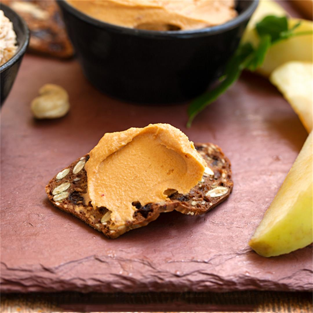 Cashew Cheese Spreads, from Mild to Wild