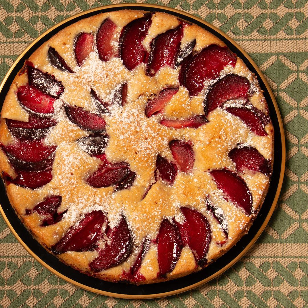 Austrian Plum Cake
