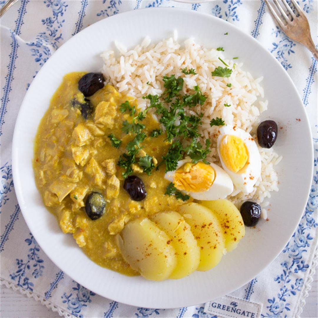 Peruvian Chicken Recipe – Aji de Gallina - Peruvian Food
