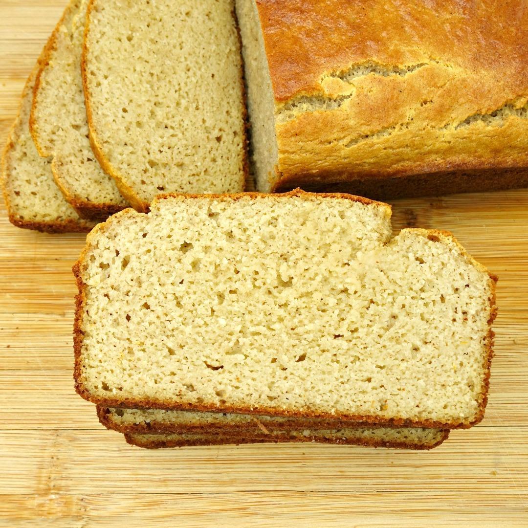 Easy Paleo Sandwich Bread {Yeast-Free!}