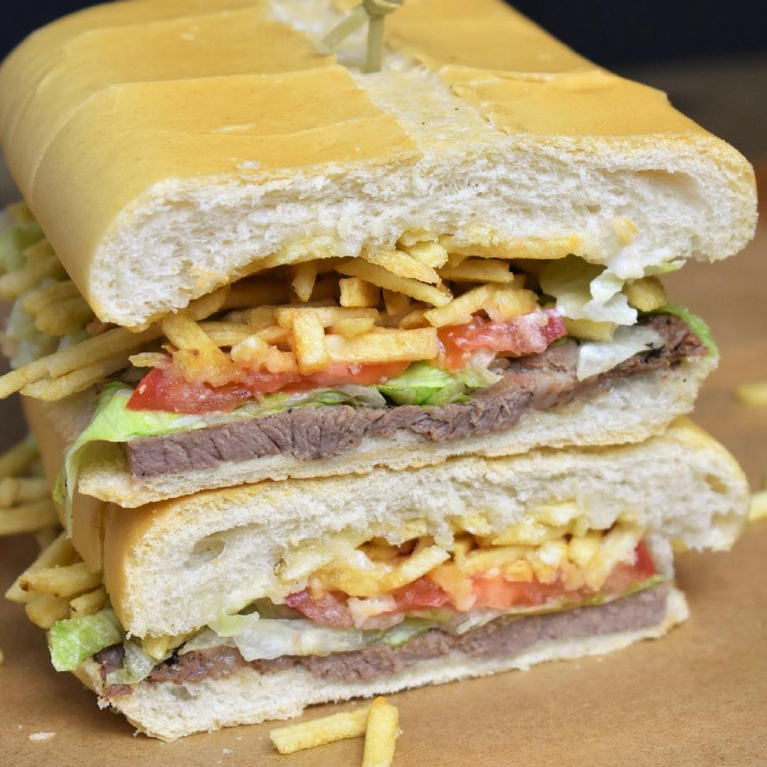 Pan con Bistec - Cuban Steak Sandwich