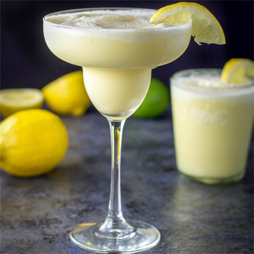 Lemon Curd Margarita