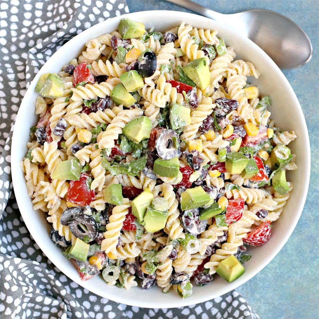 Southwest Pasta Salad with Chipotle Ranch