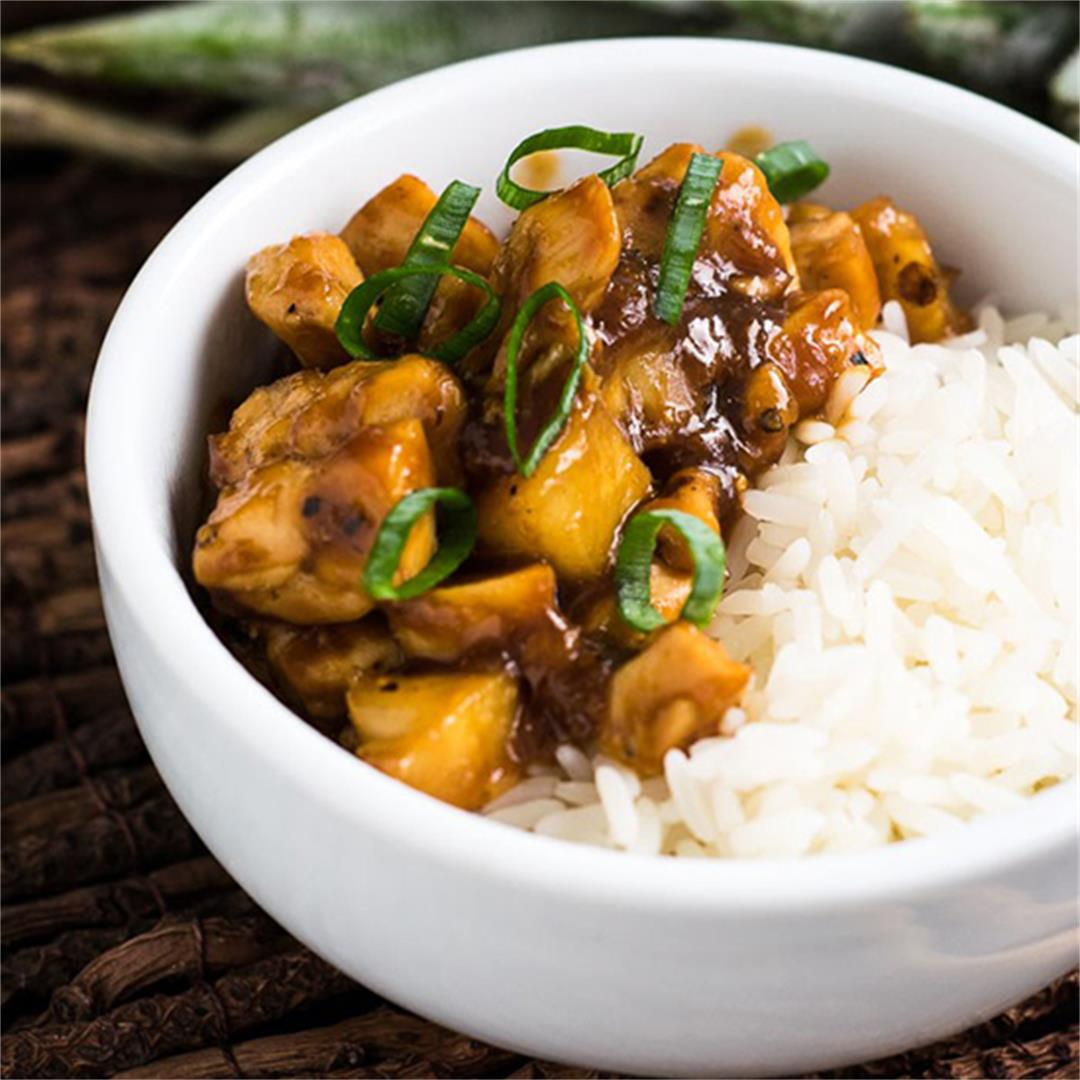 Chinese-Style Chicken with Pineapple