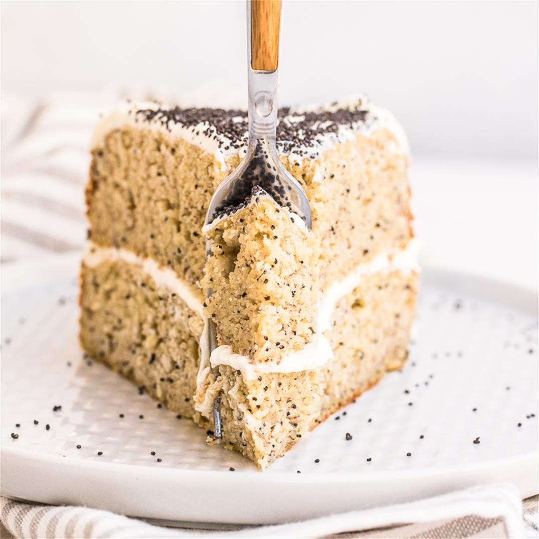 Humming Bird Cake with Cream Cheese Frosting