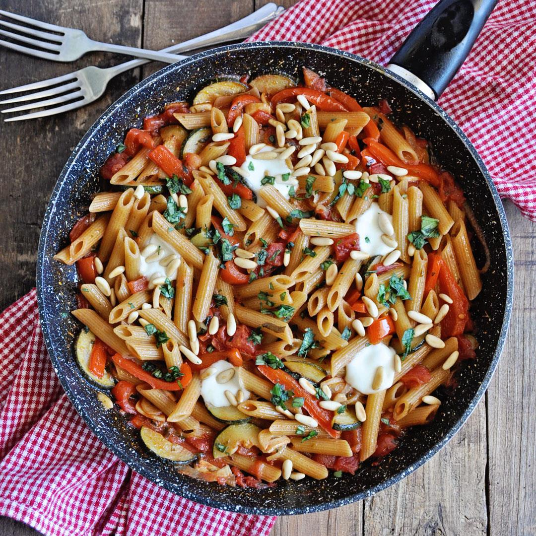 How to Make the Ultimate One-Pot Vegetarian Pasta