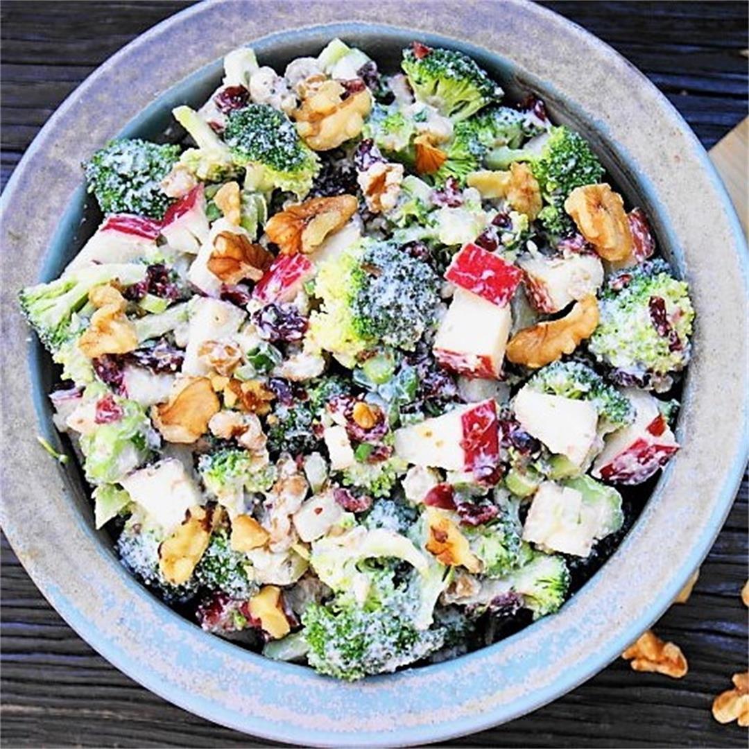 Broccoli & Apple Salad