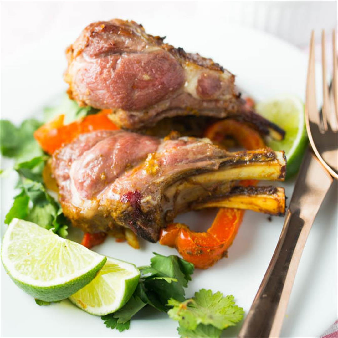 Spicy Tandoori Rack of Lamb