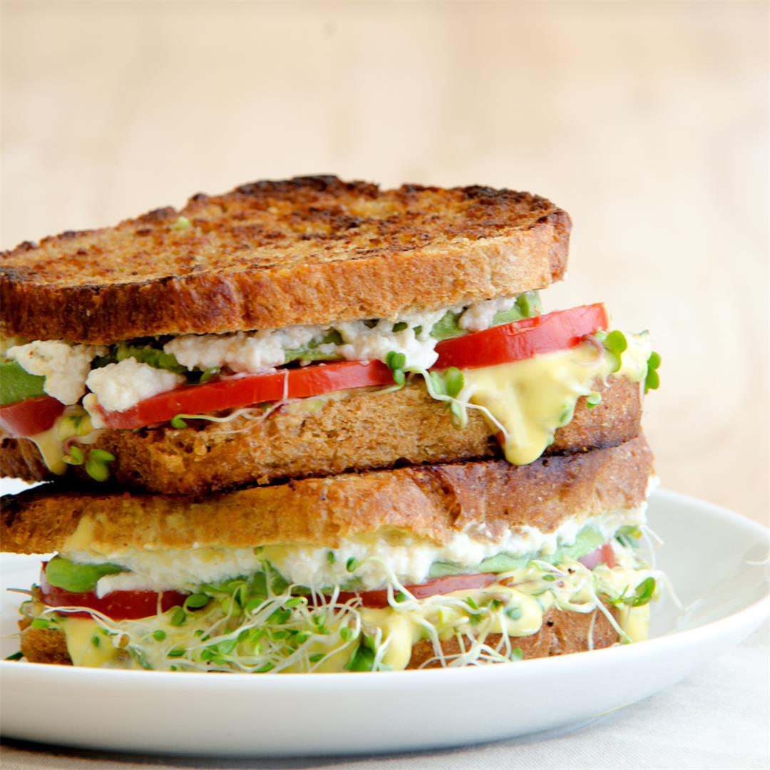 The Amazing Sprout Sandwich (for those who hate sprouts!)