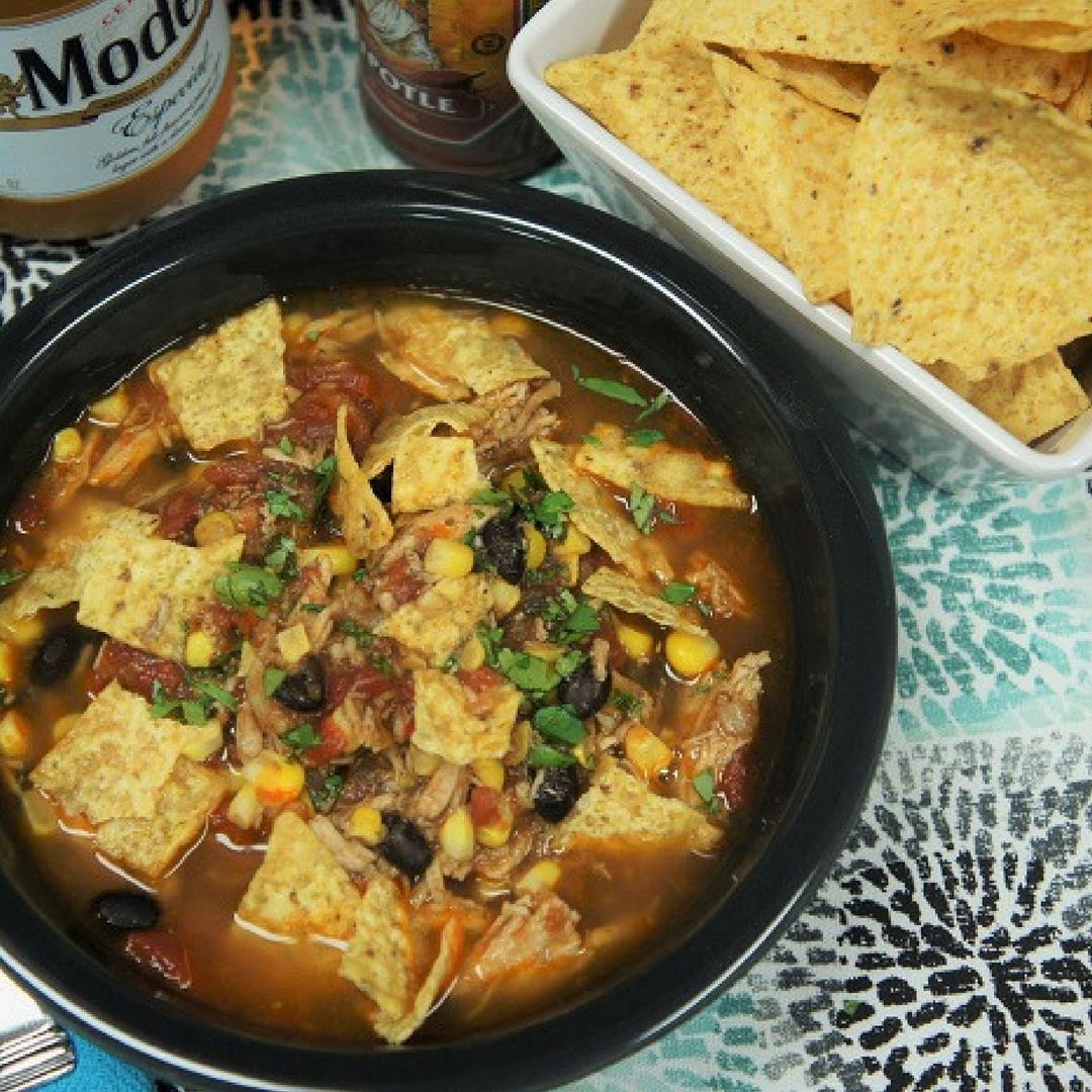 Chicken Corn Tortilla Soup