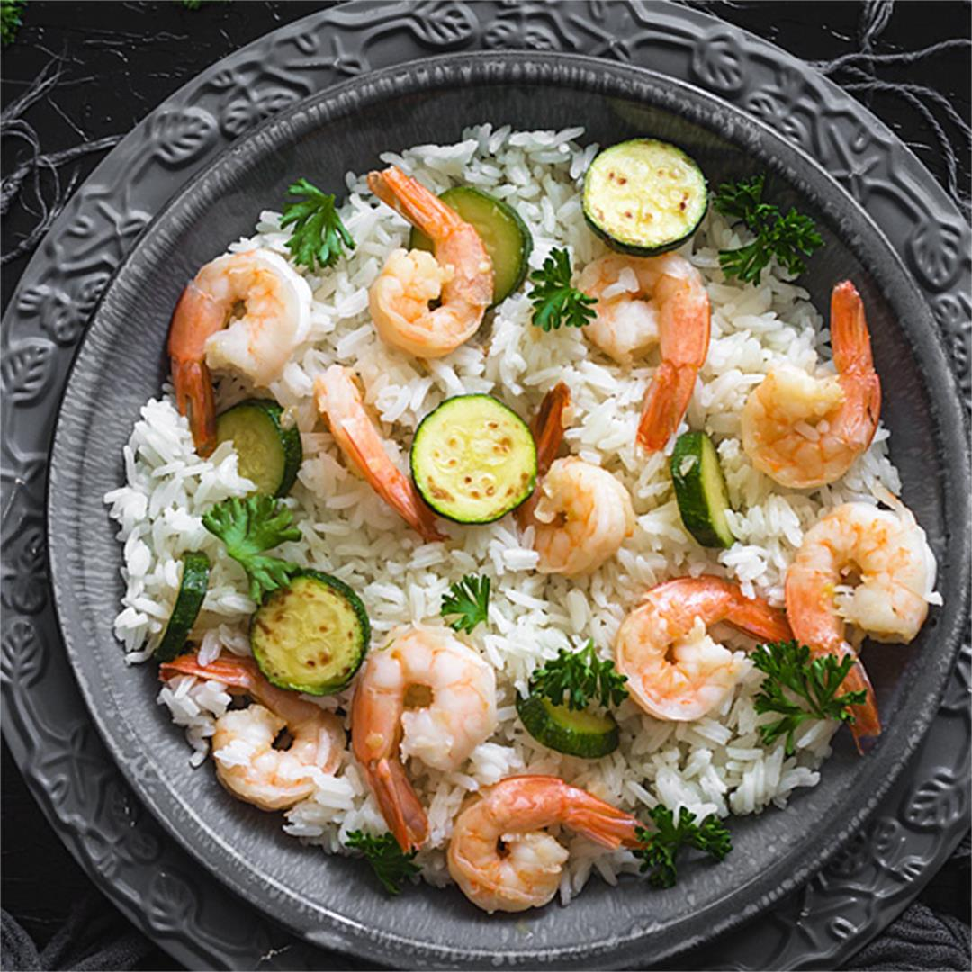 Quick and Easy Shrimp Risotto