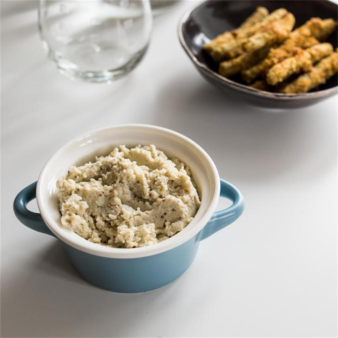 Keto Roasted Eggplant Dip Recipe
