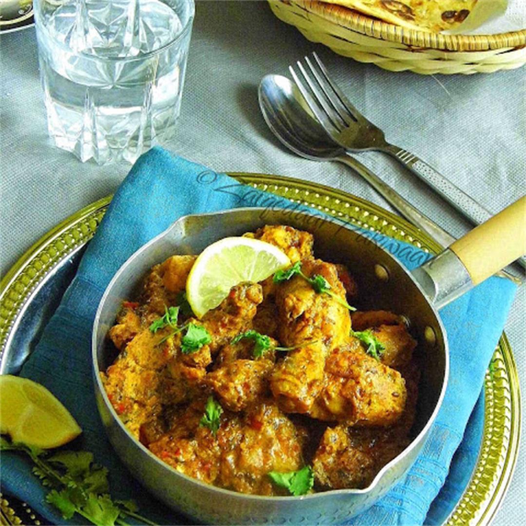 Dahi Dhaniya Murgh (Coriander Yoghurt Chicken)