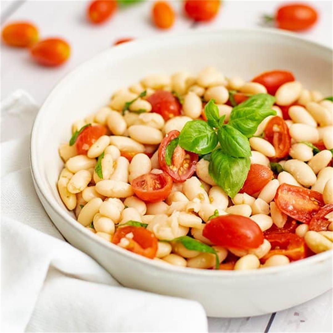 Vegan Cannellini Bean Salad