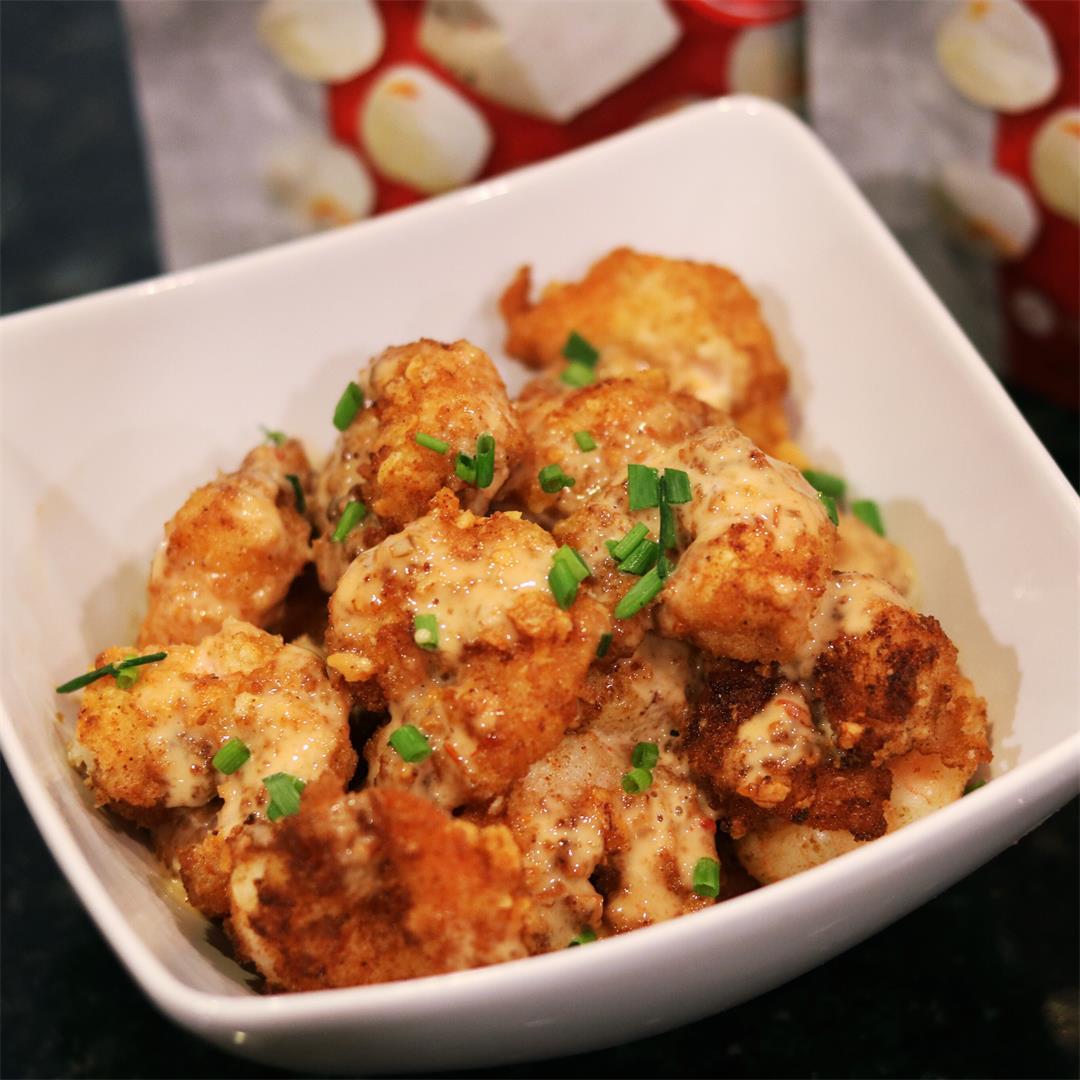 Keto-friendly Bang Bang Shrimp (Grain-free, Low-Carb)