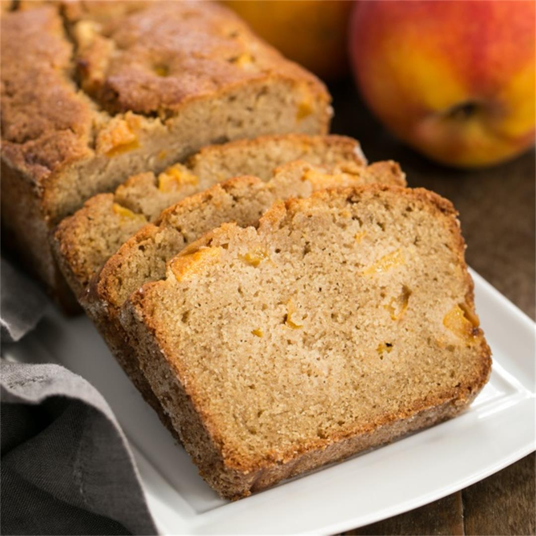 Southern Peach Bread