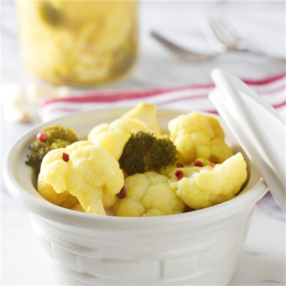 curried probiotic vegetables