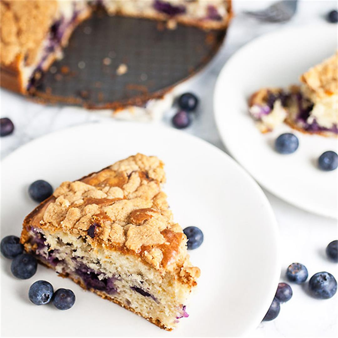Old Fashioned Blueberry Buckle