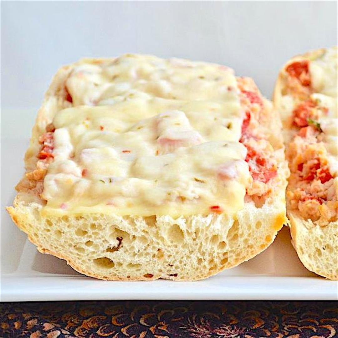 Simple Crabby Melts
