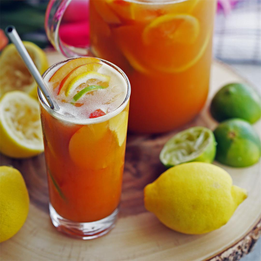 Maple Peach Citrus Juice