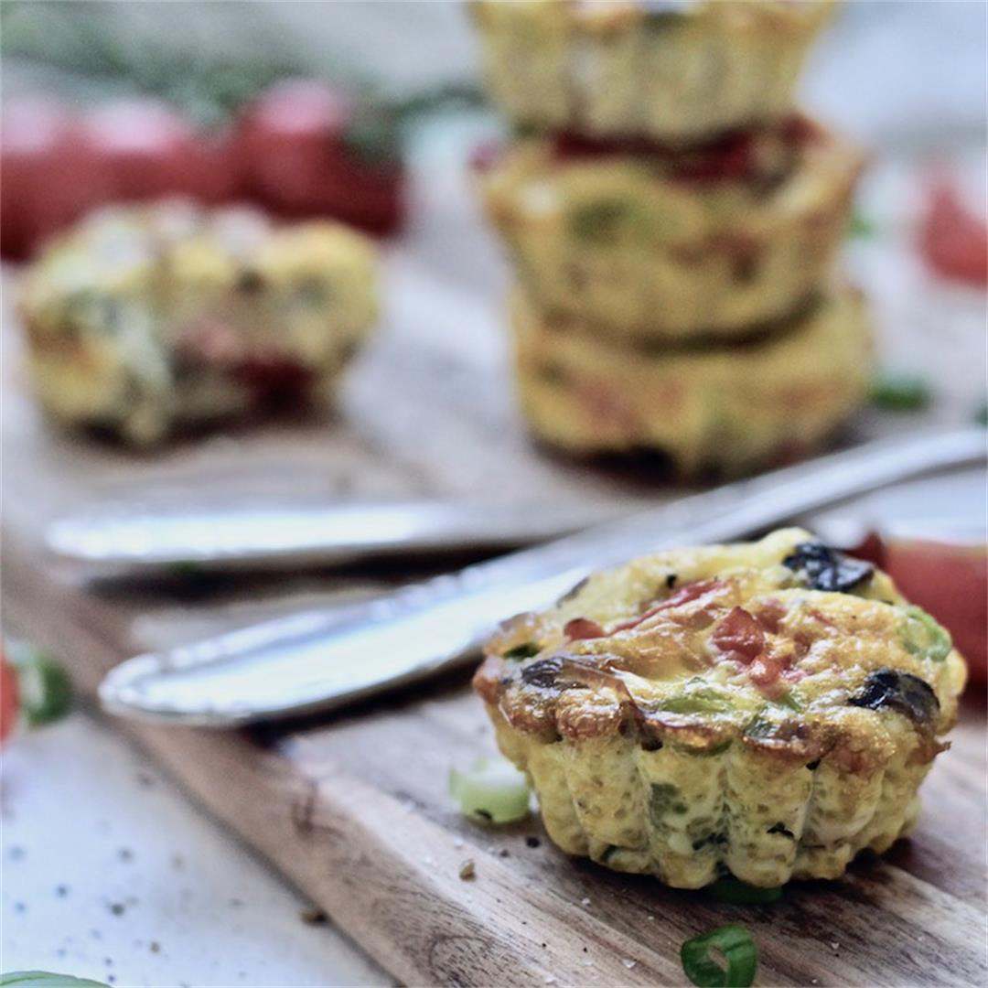 Low-Carb Egg Muffins with Veggies
