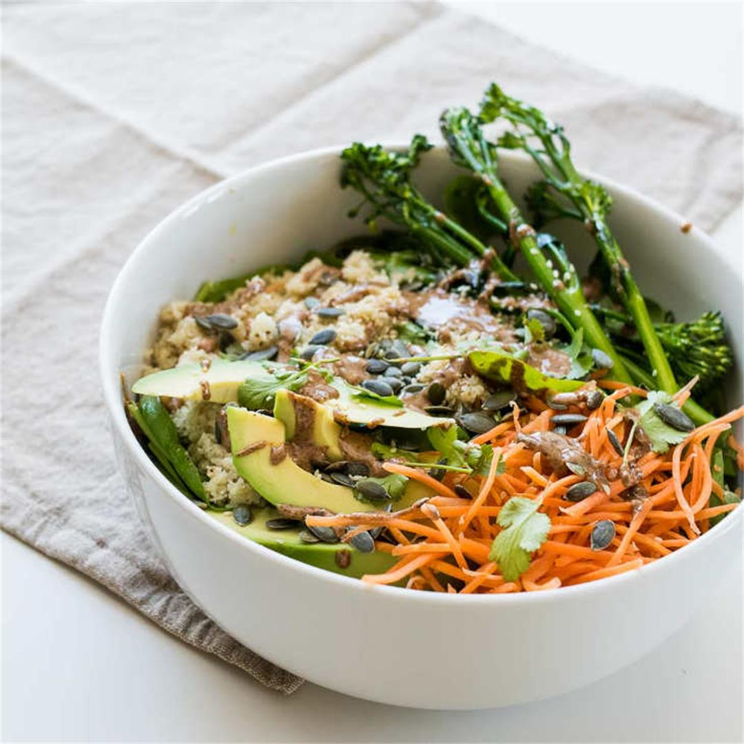 Keto Buddha Bowl Recipe