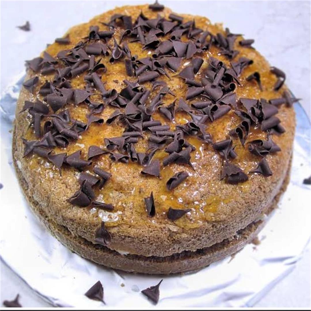 Hungarian hazelnut flourless torte