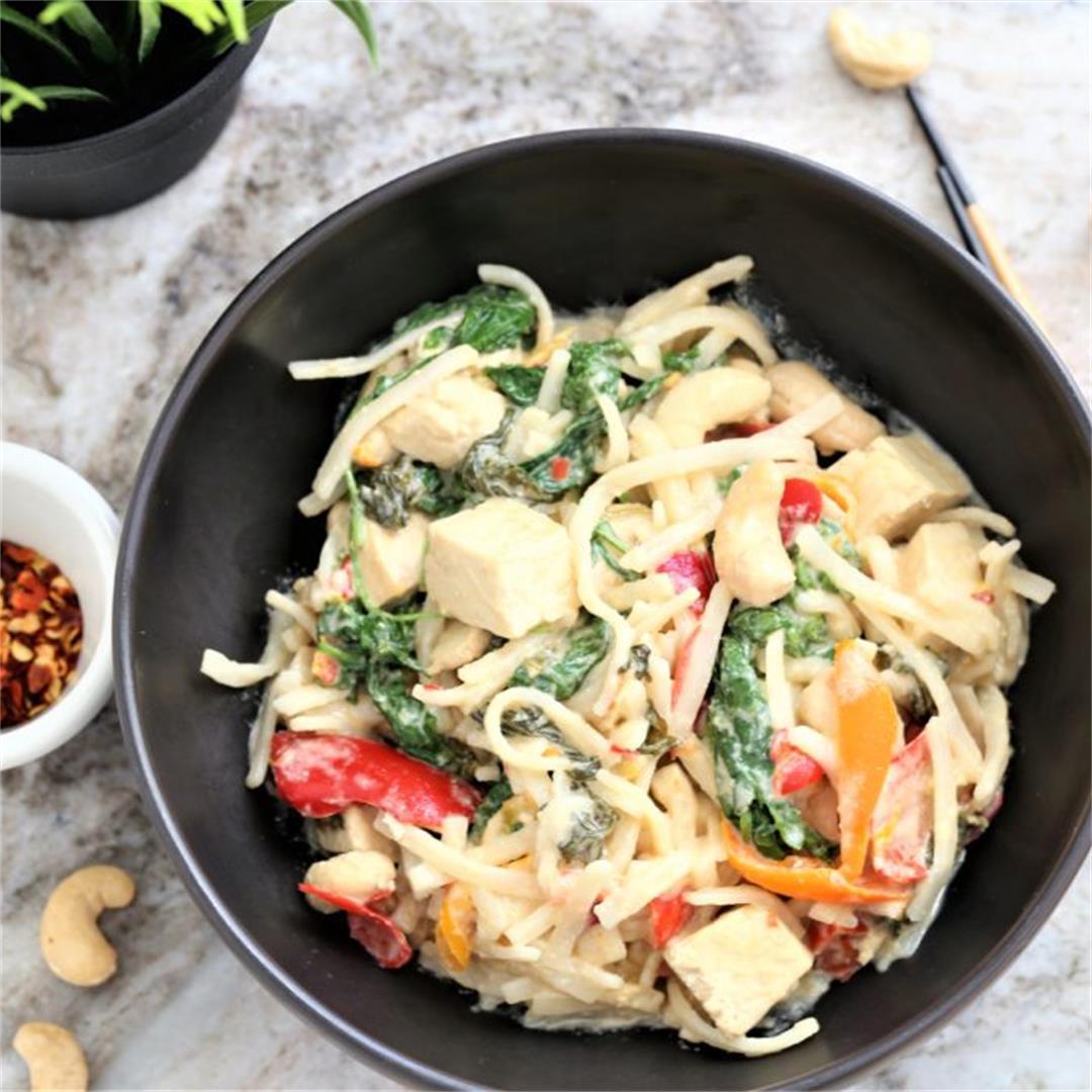 Coconut Kale Cashew Bowl