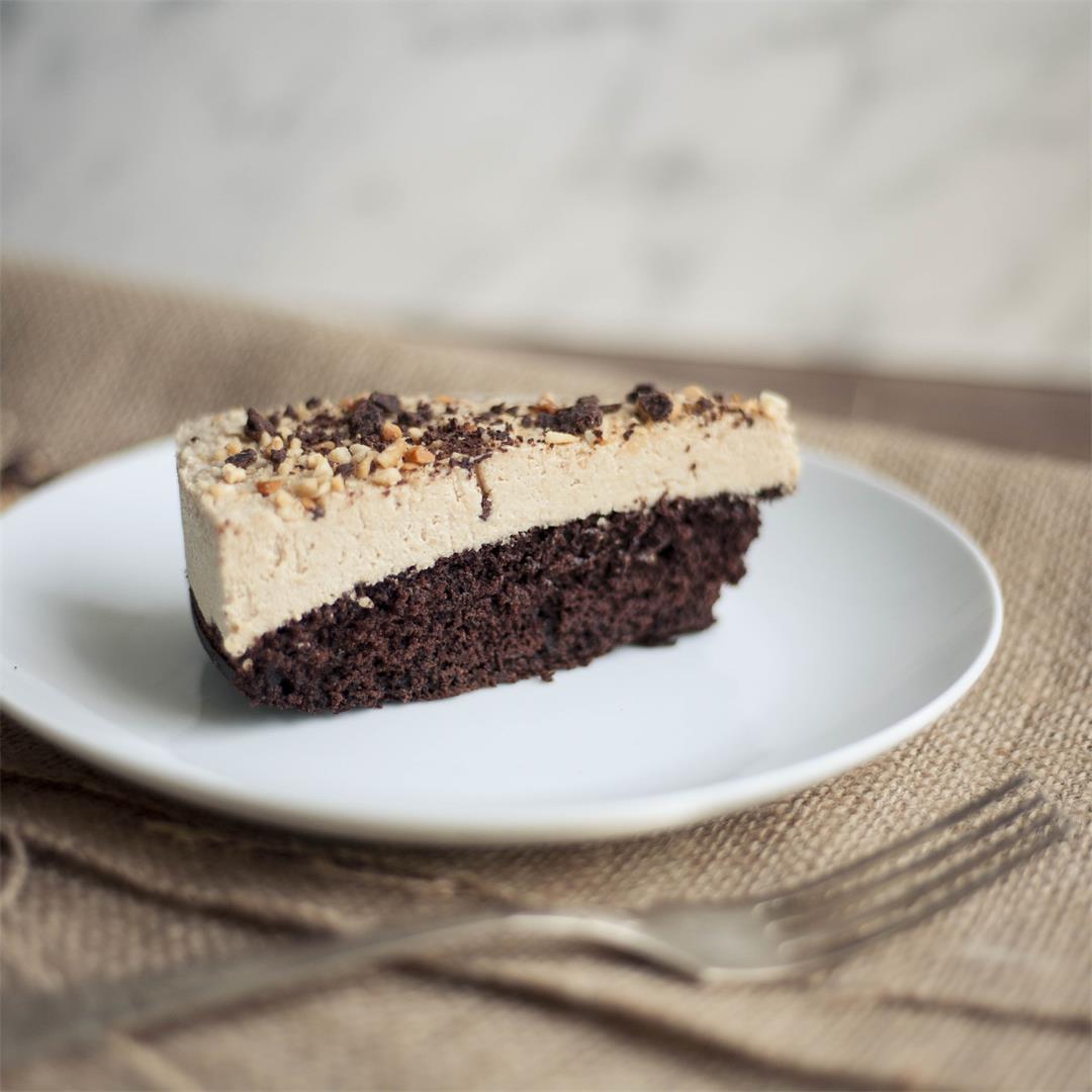 Caramel Cheesecake aka Snickers Cake
