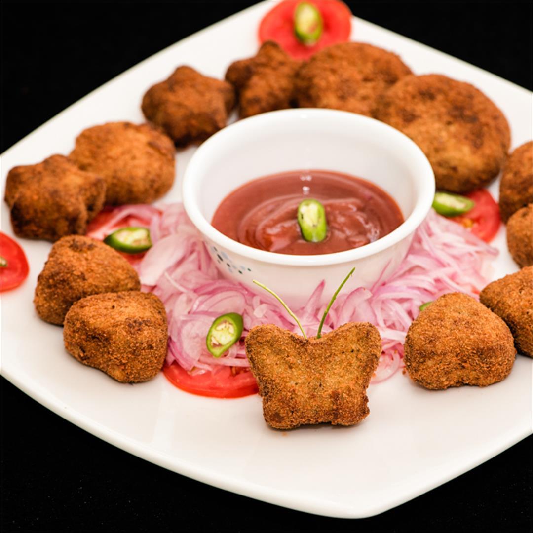 Chicken cutlets, chicken croquettes