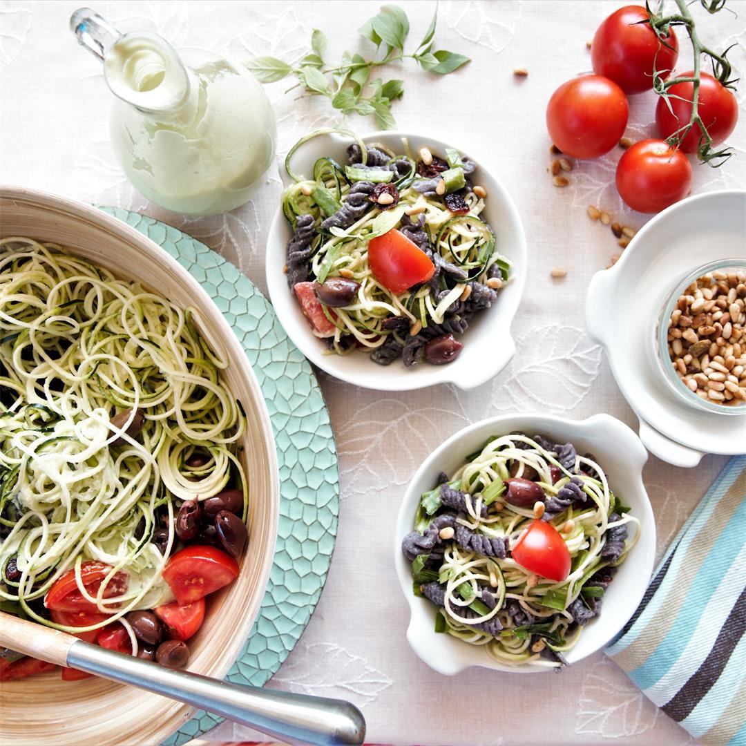 Black Bean Pasta Salad-Instant Pot