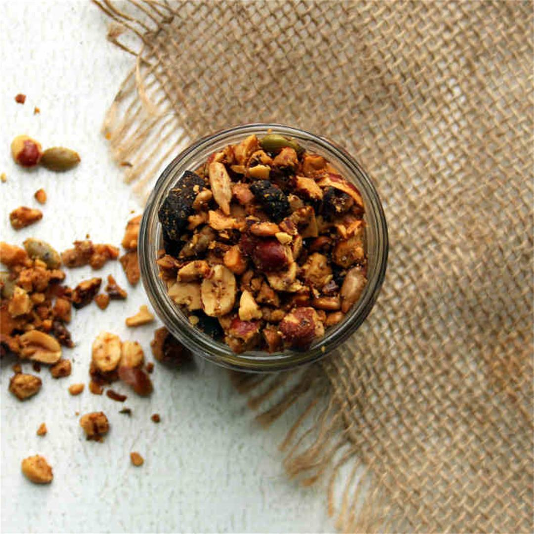 Coconut Oil Keto Granola Recipe