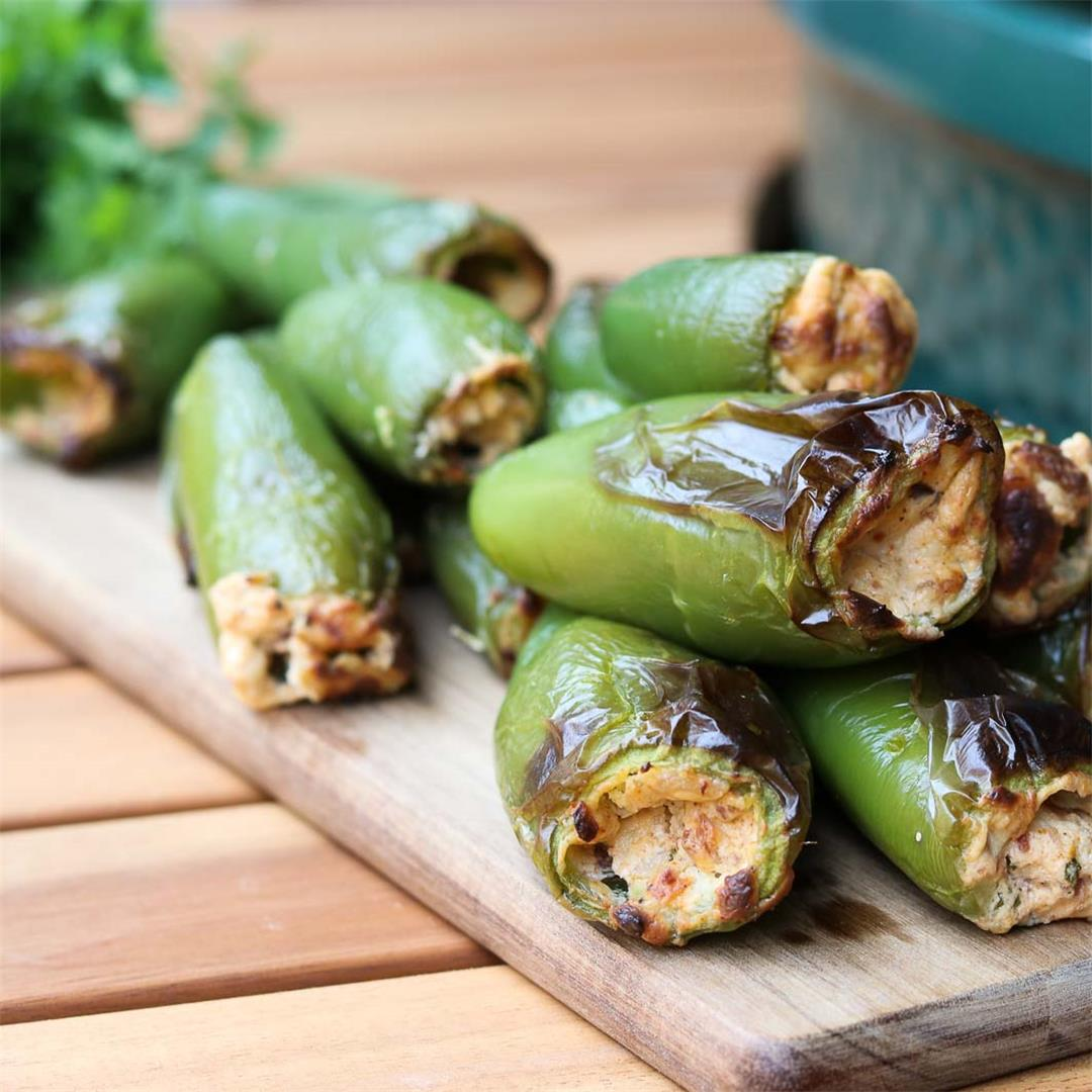 Delicious Spicy Jalapeño Poppers with a Healthy Twist