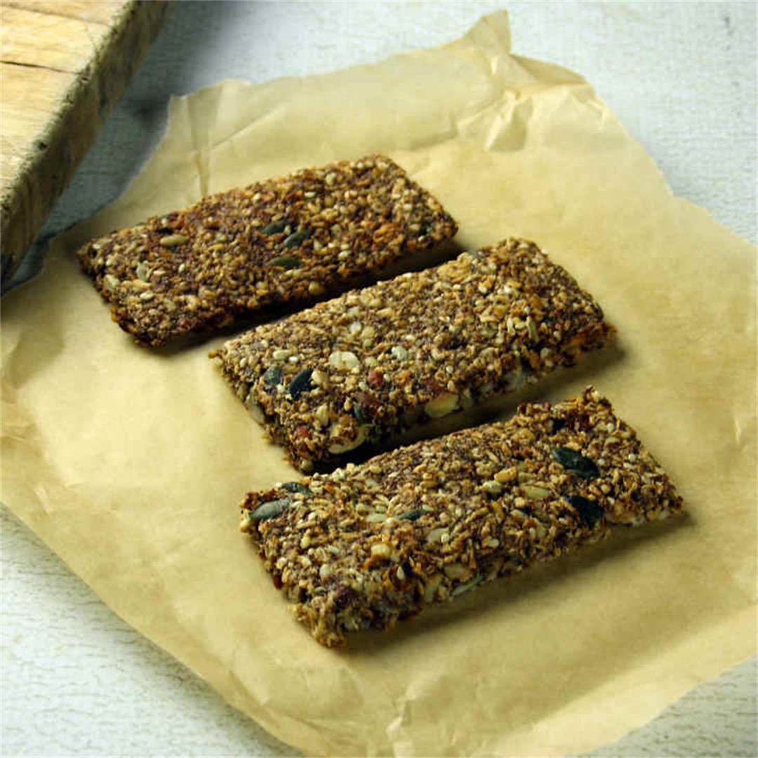 Keto Chia Breakfast Bars Recipe
