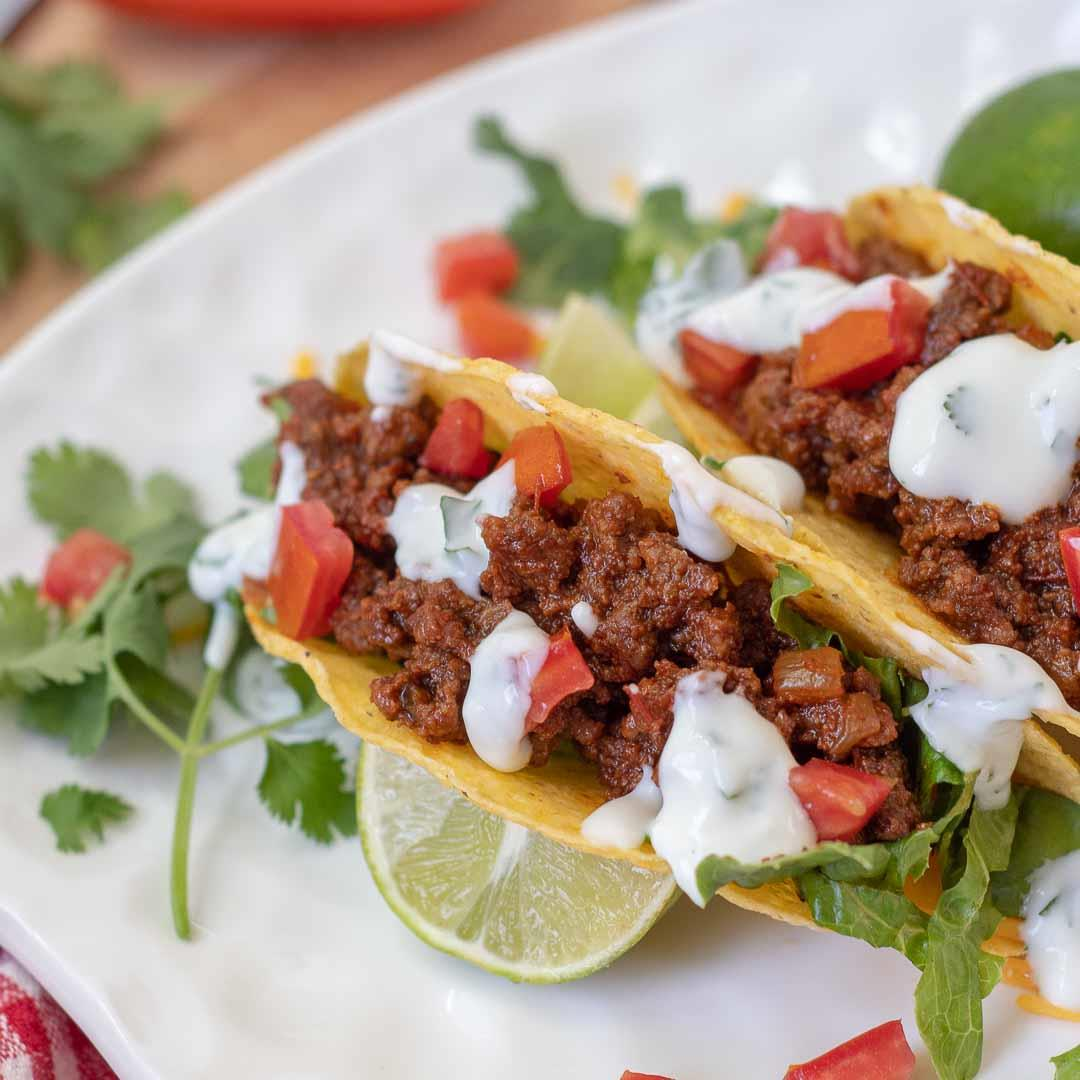Sweet and Spicy Tacos