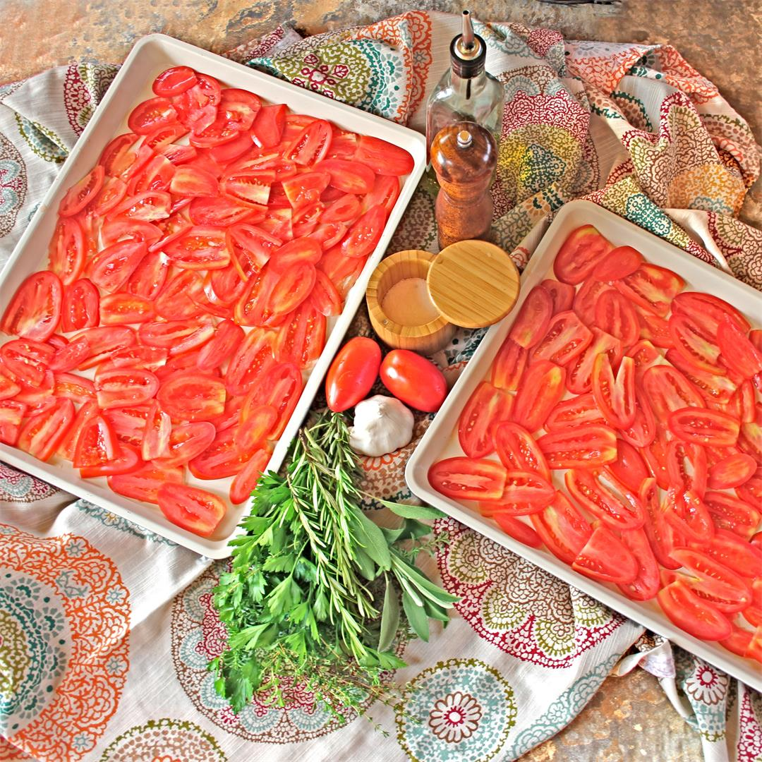 Slow-Roasted Tomato Sauce