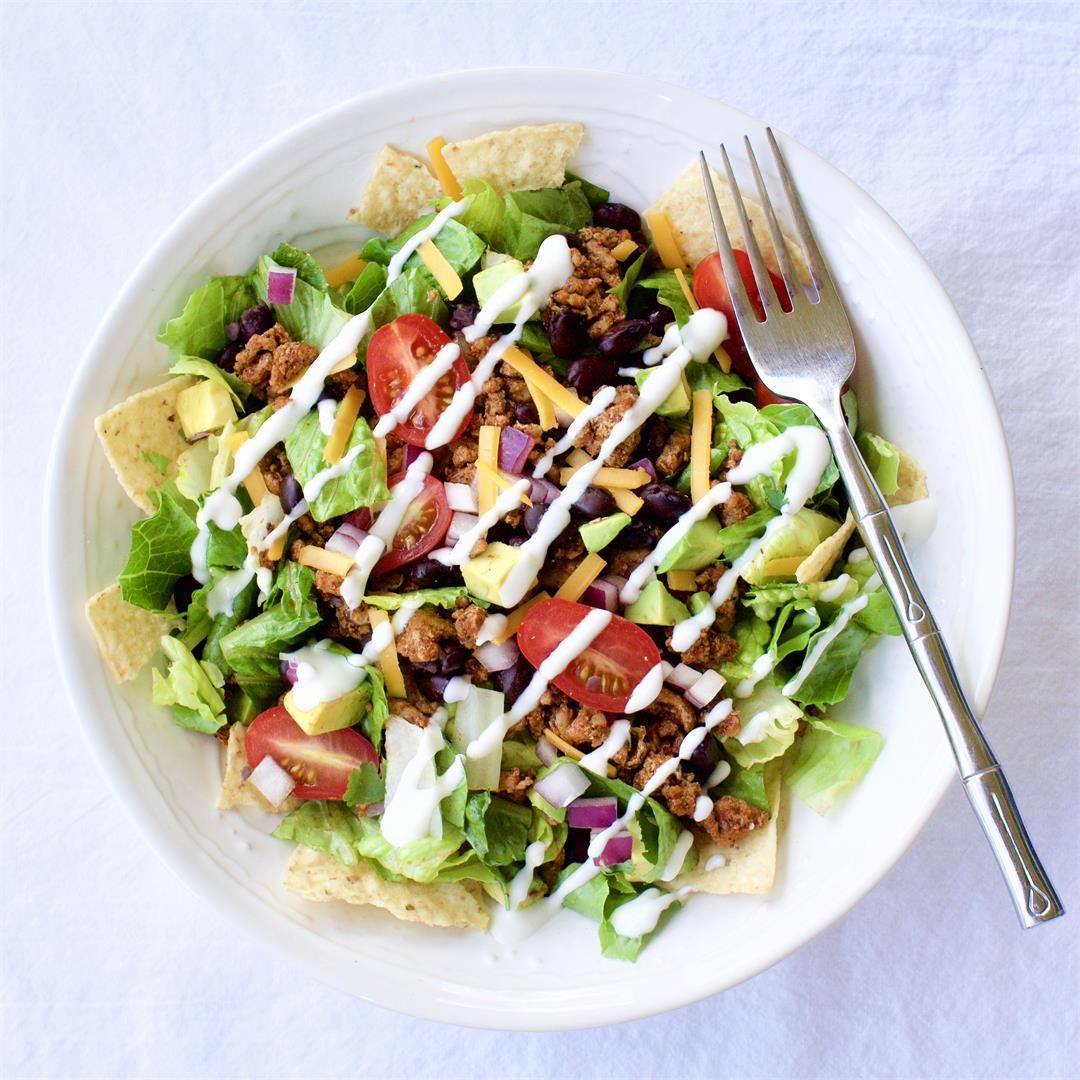 Super Simple Taco Salad