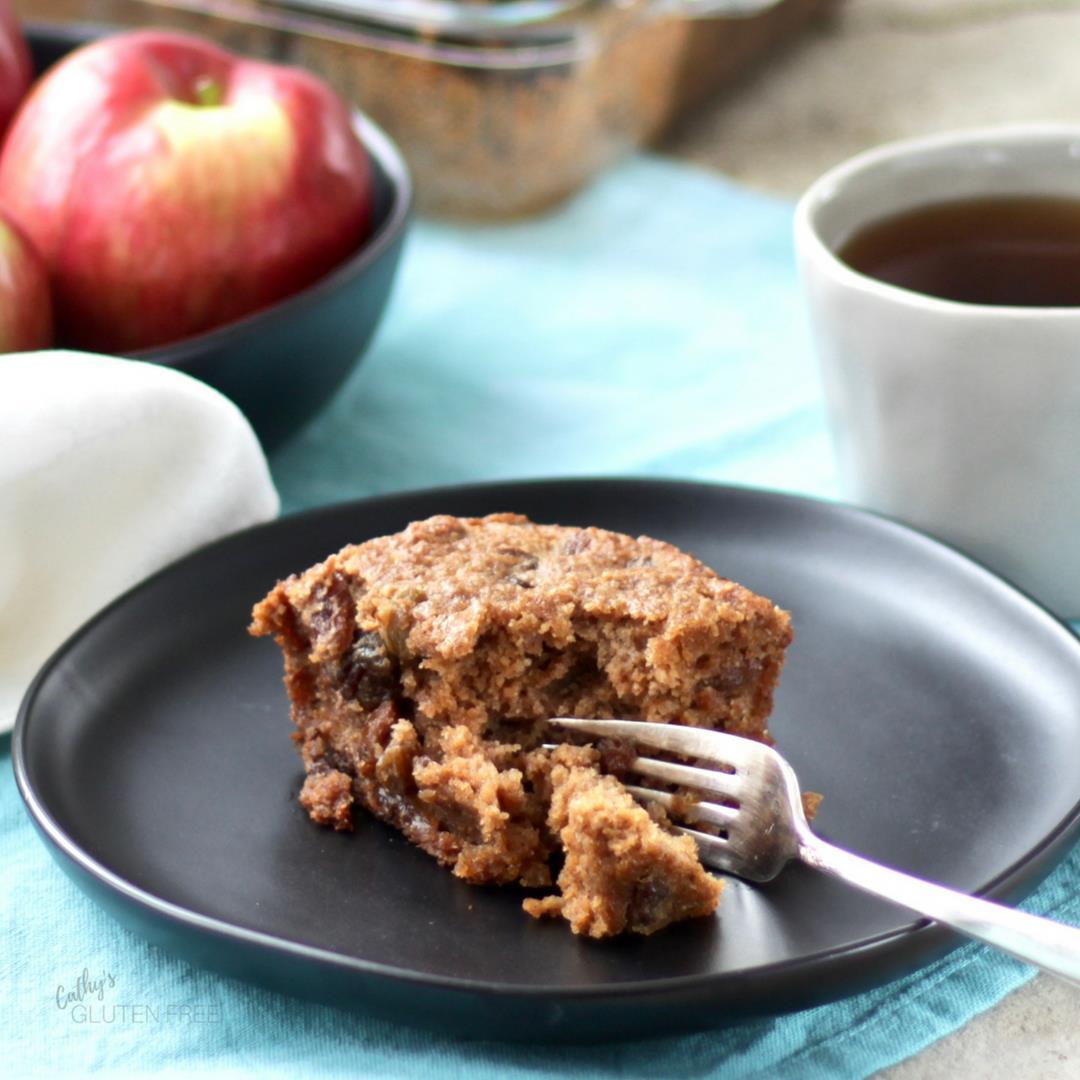 Gluten Free Applesauce Spice Cake