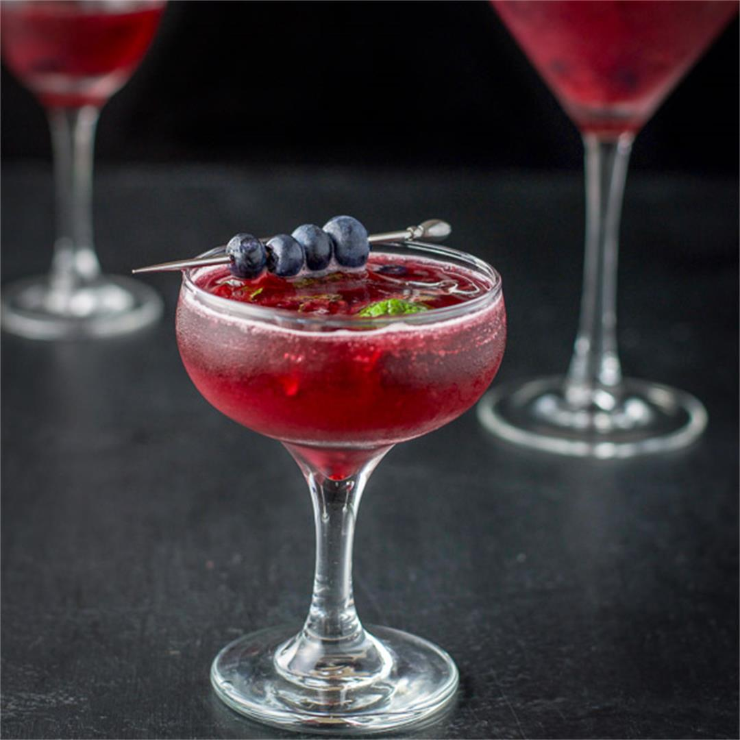 Blueberry Mint Cosmo