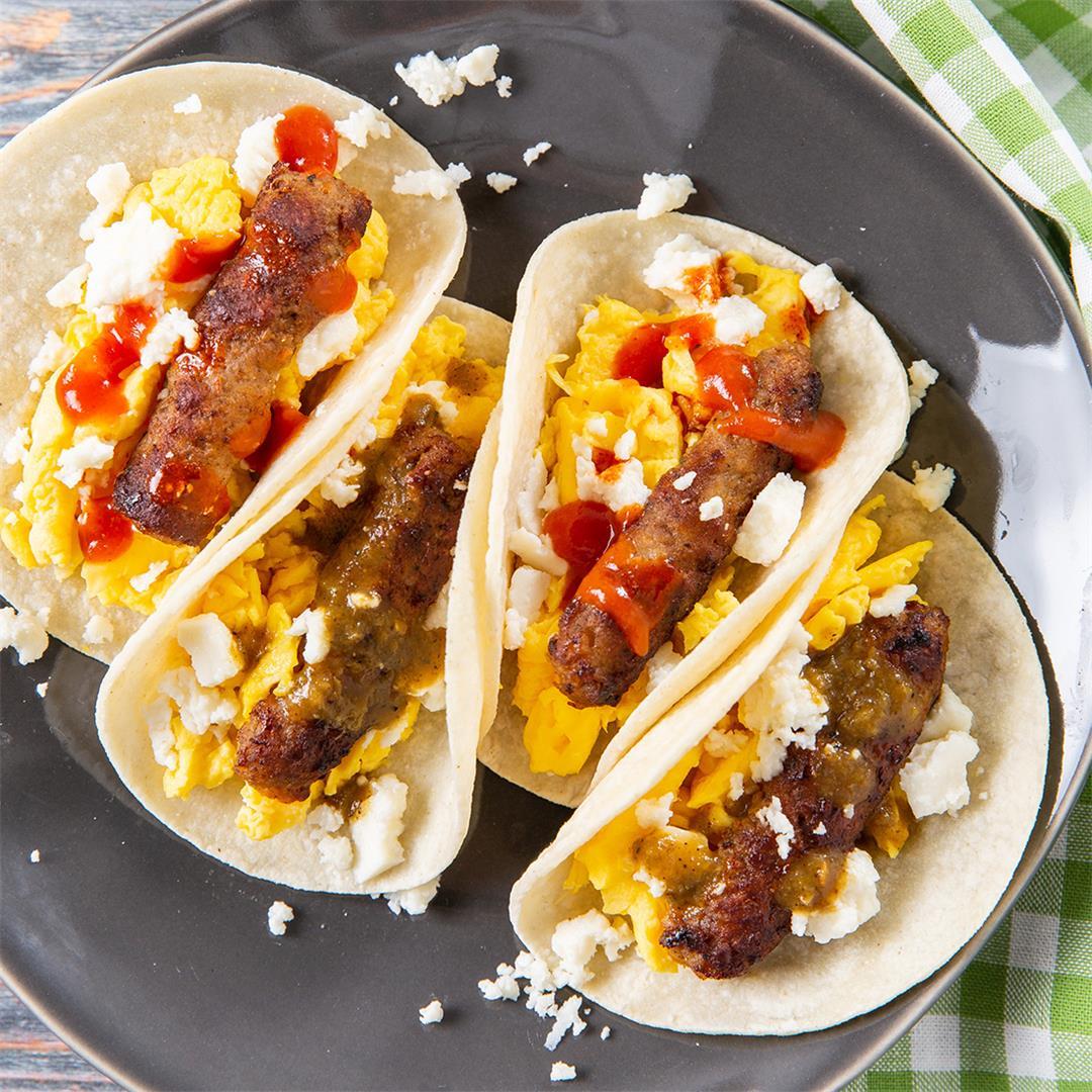 The Easiest Breakfast Tacos