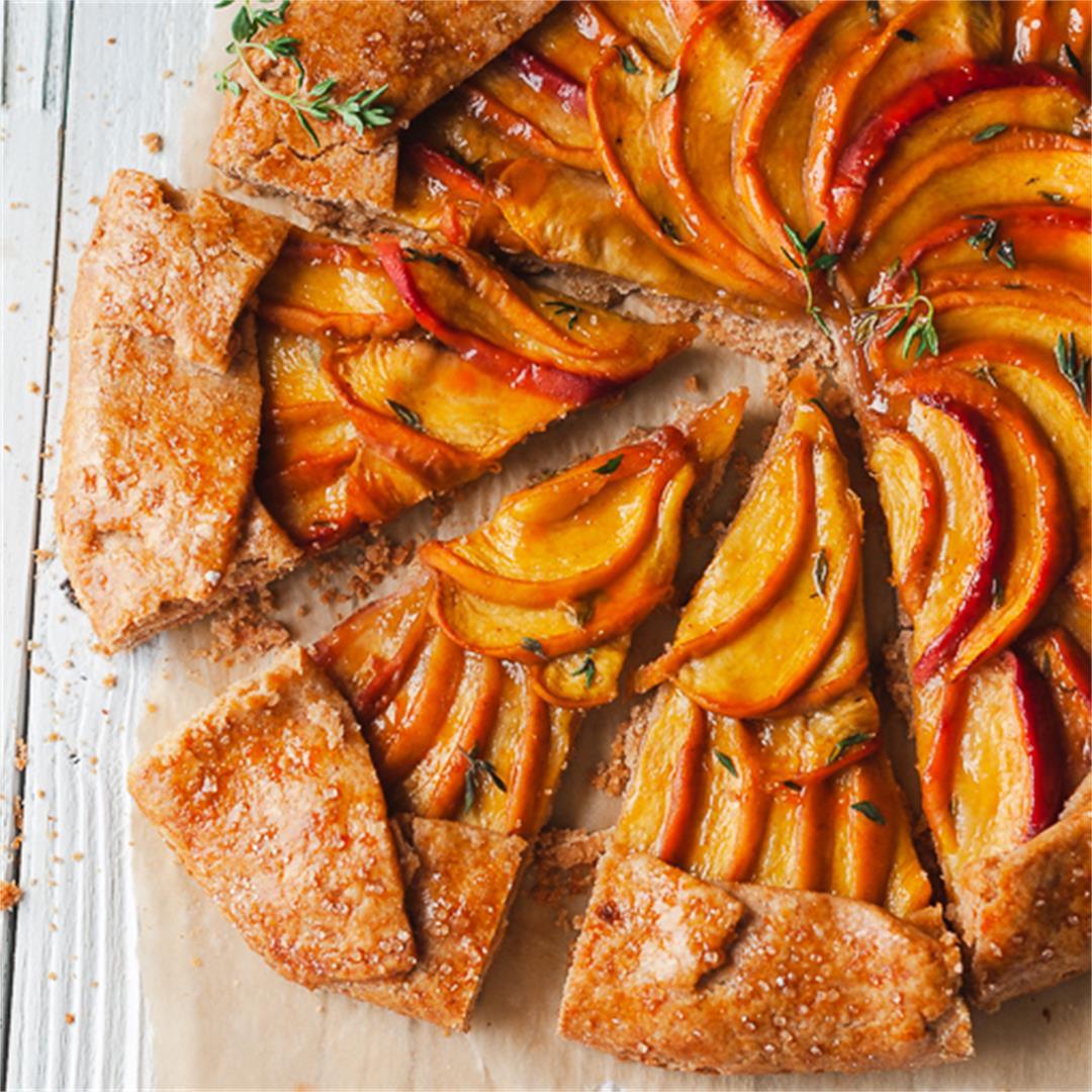 Amazing Peach Galette